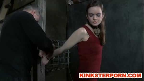 Slave Hazel Chained and Whipped